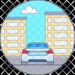 Suv Sports Car Icon