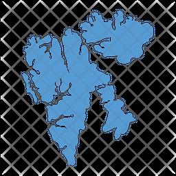 Svalbard Map Icon