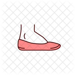 Swelling In Feet Colored Outline Icon