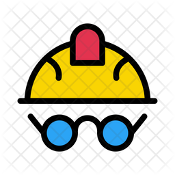 Swimming Helmet Icon