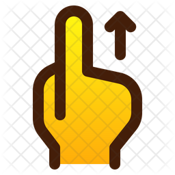 Swipe with finger Icon