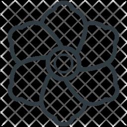 Swirl Line Icon