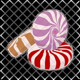 Swirl Candies Icon