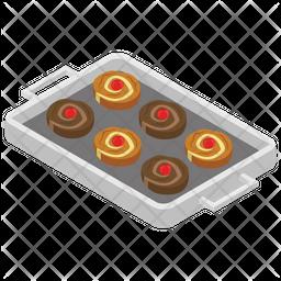 Swirl Cinnamon Cake Icon