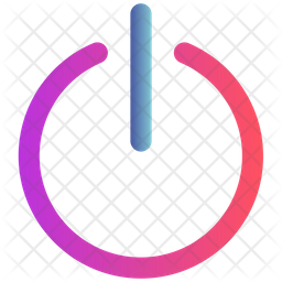 Switch Button Gradient Icon
