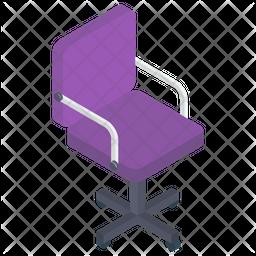 Swivel Chair Icon