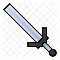 Sword Icon Of Colored Outline Style Available In Svg Png Eps Ai Icon Fonts