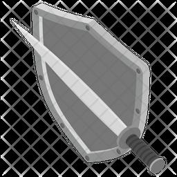 Sword Shield Icon