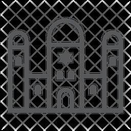 Synagogue Line Icon