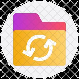 Sync Gradient Icon