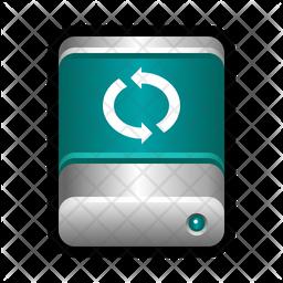Sync drive Icon