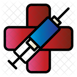 Syringe Colored Outline Icon