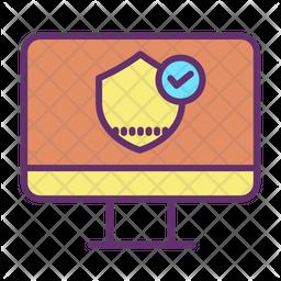 Computer Security Password Icon
