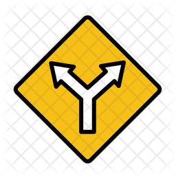 T-junction Icon