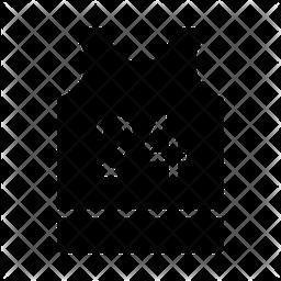 T Shirt Glyph Icon