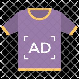 T-shirt Ad Icon