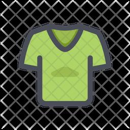 T Shirt v neck Icon