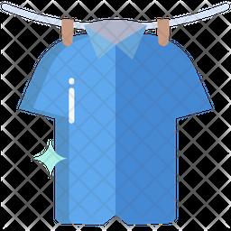 T Shirt Washed Flat Icon