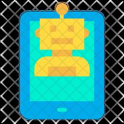 Tab Robot Icon