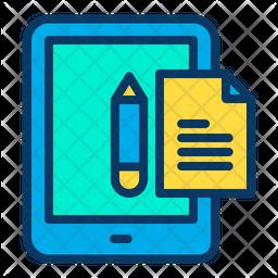 Tab Study Note Icon