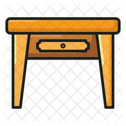 Table Icon Of Colored Outline Style Available In Svg Png Eps Ai Icon Fonts
