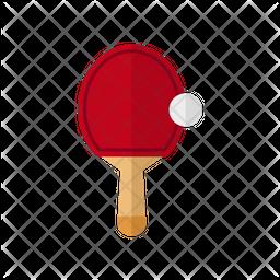 Table Tennis Flat Icon