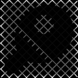 Table-Tennis Glyph Icon