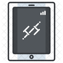 Tablet Icon Of Colored Outline Style Available In Svg Png Eps Ai Icon Fonts