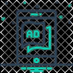 Tablet Ad Icon