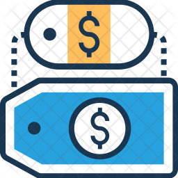 Tag Colored Outline Icon