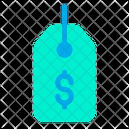 Tag Dollar Icon