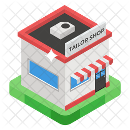 Tailor Shop Icon