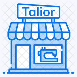 Tailor Shop Icon