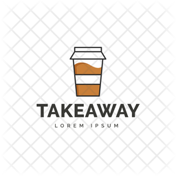 Takeaway Colored Outline  Logo Icon