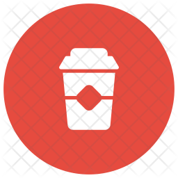 Takeaway Cup Glyph Icon
