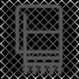 Tallit Line Icon