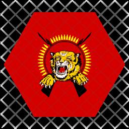 Tamil Flag Icon