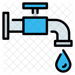 Tap Colored Outline Icon