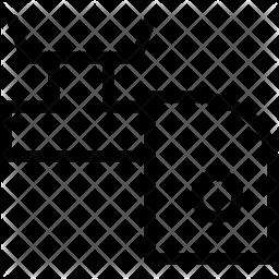 Tap Line Icon