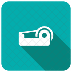 Tape Cutter Glyph Icon