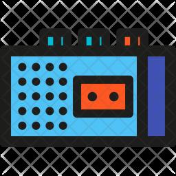 Tape, Recorder Icon