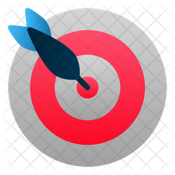 Target Gradient Icon