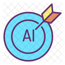 Target Ai Icon Of Colored Outline Style Available In Svg Png Eps Ai Icon Fonts