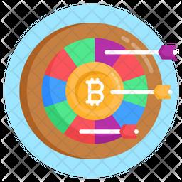 Target Bitcoin Icon