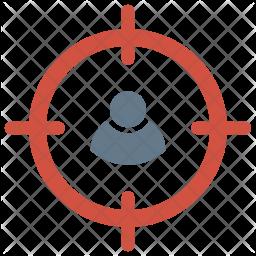Target user Flat Icon