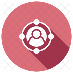 Targeted Audience Glyph Icon