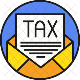 Tax Colored Outline Icon