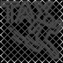 Tax Evasion Icon