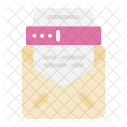 Tax Letter Flat Icon