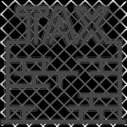 Tax Wall Icon